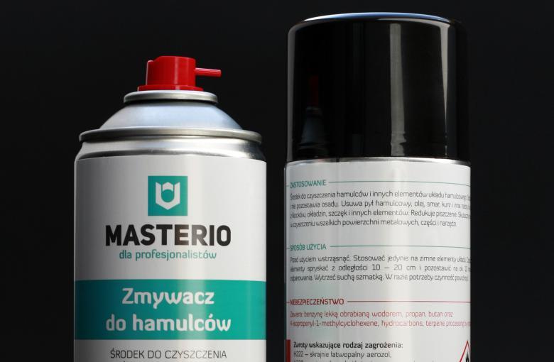 Zmywacz do hamulców Masterio