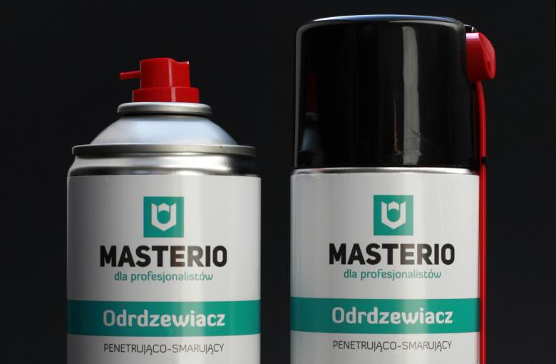 Odrdzewiacz smarująco-penetrujący Masterio