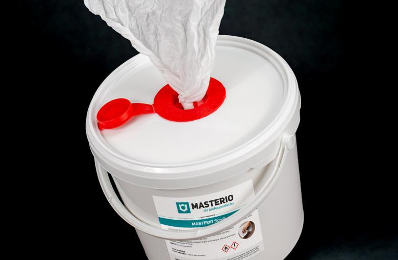 Chusteczki odtłuszczająco-czyszczące Masterio Scrub