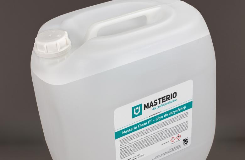 Płyn do dezynfekcji Masterio Clean ET 30 litrów