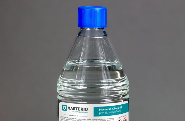 Płyn do dezynfekcji Masterio Clean ET 1 litr