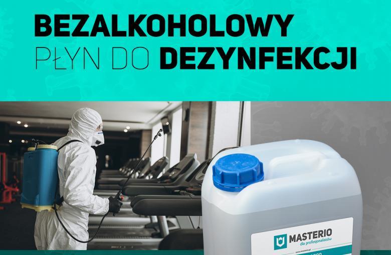 Bezalkoholowy płyn do dezynfekcji Masterio FC 1000, 5 litrów