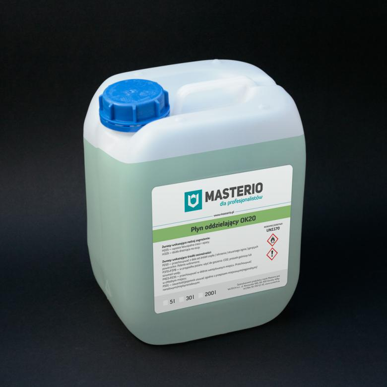 Masterio OK20 — разделительная жидкость для кромкооблицовочных станков