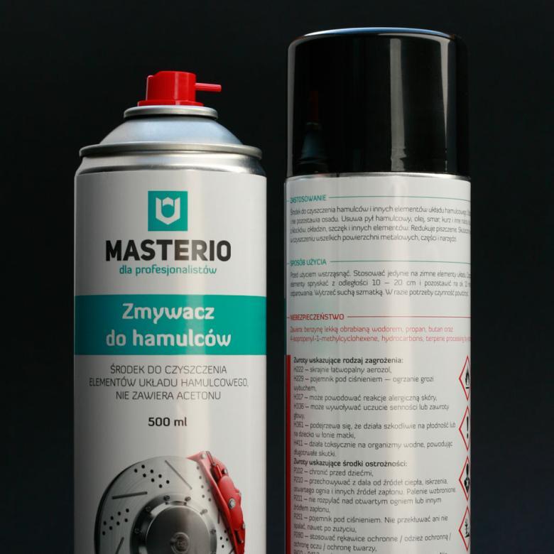 Жидкость Masterio для тормозов 500 мл